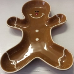 Gingerbread Man Tray