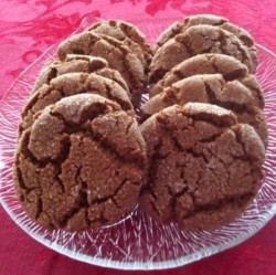 Gwen's Homemade Ginger Snaps