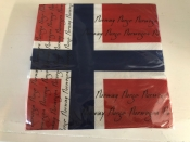 Norway Flag Napkins