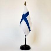 "3"" X 4"" Nylon Flag-Finland"