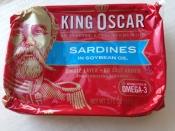 King Oscar, Sardines in Soybean Oil