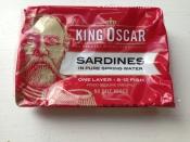 King Oscar, Sardines in Spring Water