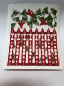 Christmas Bells dishcloth