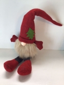 Nisse/Tomte/Tonttu With Tree on Red Hat
