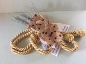Swedish Love Knot, Burlap and Wheat