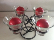 Ring of Four Candle Holders