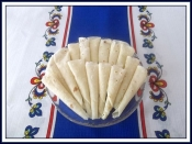 Lefse, Homemade, 6 rounds