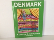 Denmark, A coloring and activity book