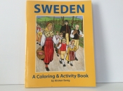 Sweden, A coloring and activity book