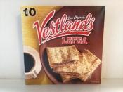 Vestlands Lefsa (Viking bread), 12.5 ounces./350 grams