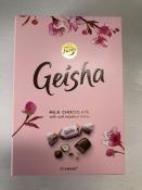 Geisha, Milk Chocolate/Hazelnut Filling