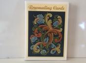 Rosemaling Note Cards