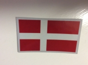 Denmark Flag Decal