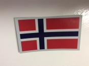 Norway Flag Decal