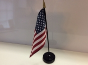 "3"" X 4"" Nylon Flag-America"