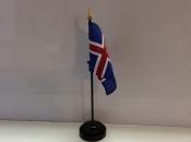 "3"" X 4"" Nylon Flag-Iceland"