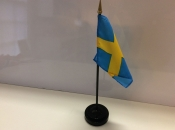 "3"" X 4"" Nylon Flag-Sweden"