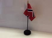 "3"" X 4"" Nylon Norway Flag"