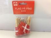 Denmark-Flags on Toothpicks