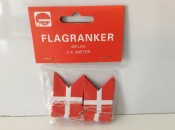 Danish Flag Garlands