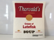 Lutefisk dishcloth