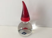 Crystal Nisse With Pointed Red Hat