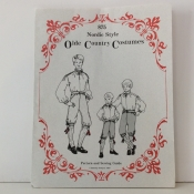 Little Boy Costume Pattern, 4-7