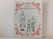 Boys Costume Pattern, 8-16