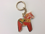 Dalahorse, Red, Key Ring