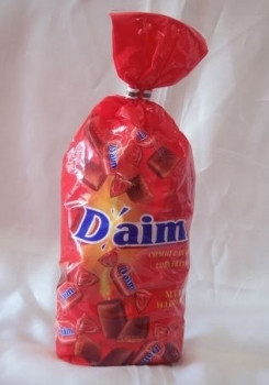 Daim in bag