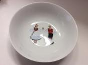 Norwegian Dancer, Cereal bowl