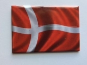 Danish Flag, Magnet