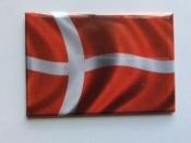 Danish Flag, Magnet