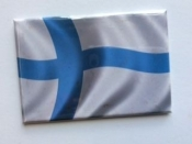 Finnish Flag, Magnet