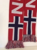 Norway Flag Scarf