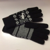 Nordic Gloves in Black
