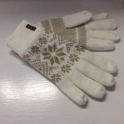 Nordic Gloves in White