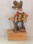 Old Cowboy, Carved by Danny