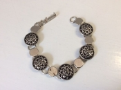 Froy Pewter Bracelet