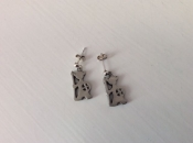 Viking-Pewter Earrings