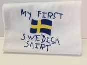 My First Swedish T-shirt