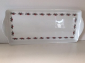 Serving Tray with Hearts and Pines Border