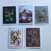 Note Cards with Rosemaling