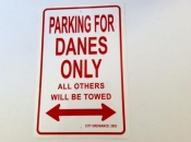Parking for Danes Only