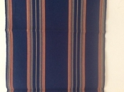 Navy Blue with Stripes Runner