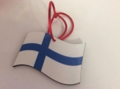 Finnish Flag Ornament