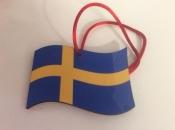 Swedish Flag Ornament