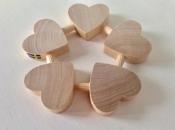 Wooden Heart Trivet