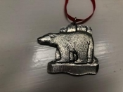 Polar Bear - Norwegian Pewter, 2""