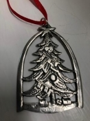 Christmas Tree - Norwegian Pewter, 2 1/2""